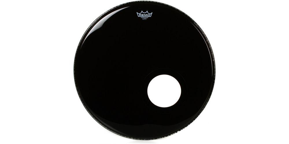 remo powerstroke 3 ebony bombo micro 22