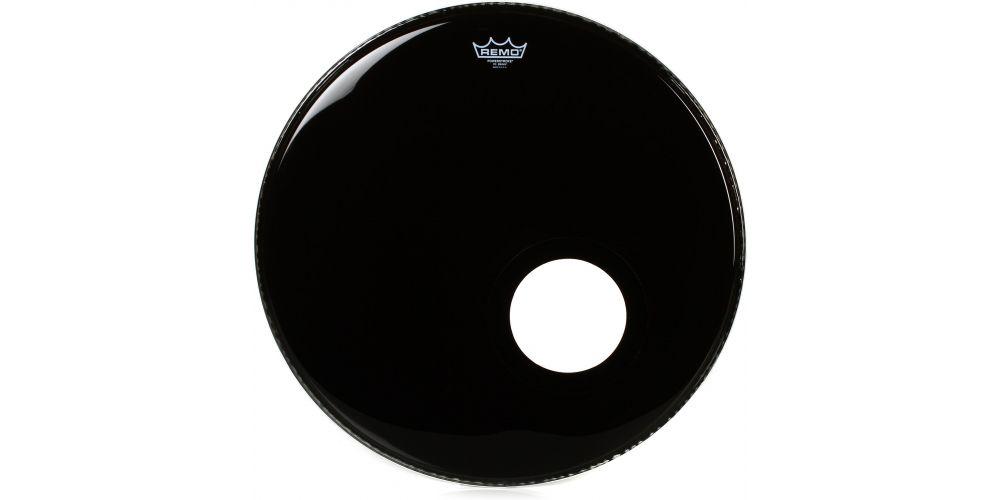 remo powerstroke 3 ebony bombo micro