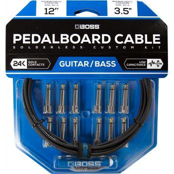 Boss BCK12 Kit Cables de Pedalera sin Soldadura