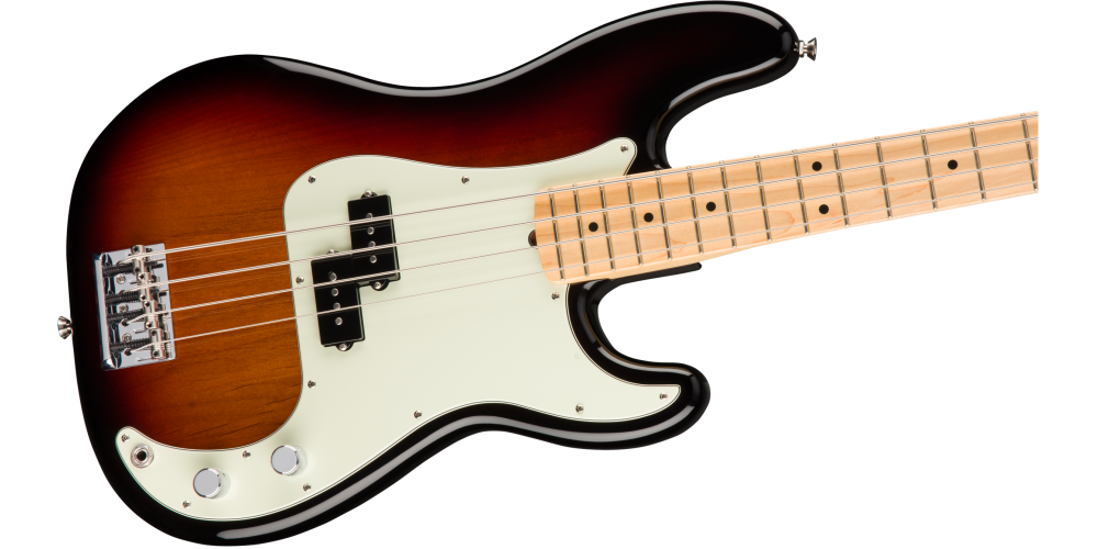 fender american pro precision bass maple fingerboard 3 color sunburst cuerpo