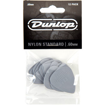 Dunlop Puas Nylon Standard 0,60 Set 12 Unidades