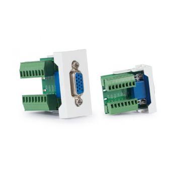 Fonestar WP-51V Panel de conexión VGA, D15