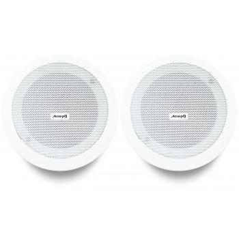 Audibax CM508L-BT Bluetooth Pareja Altavoces Empotrable Techo 20W 5,25