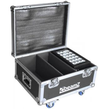 Beamz Professional Flightcase FL2 Para 2-pcs Star-Color 240 o 360 Proyectores Wash 150696
