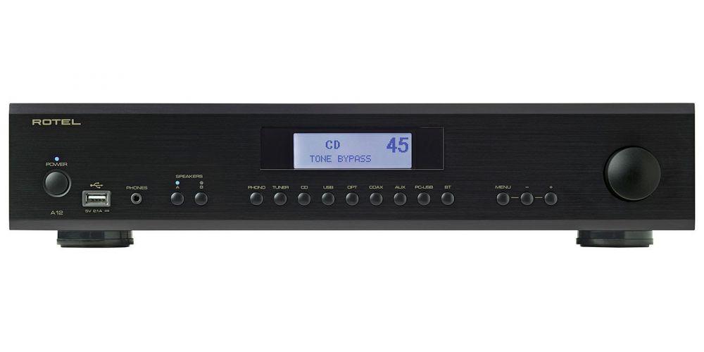 Rotel A12 Black amplificador a12 bk