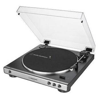 Audio Technica AT-LP60XUSB GM Giradiscos Automático Estéreo de Tracción por Correa (Analógico y USB)