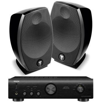 Denon PMA 520 Black+Focal Sib Evo Conjunto Audio