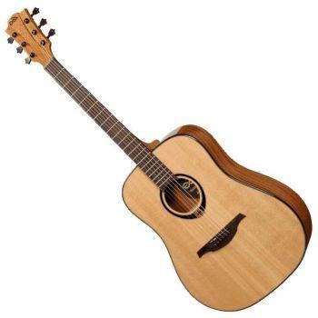 LAG TL80DCE Guitarra Electro-Acústica para Zurdos DREADNOUGHT CUTAWAY