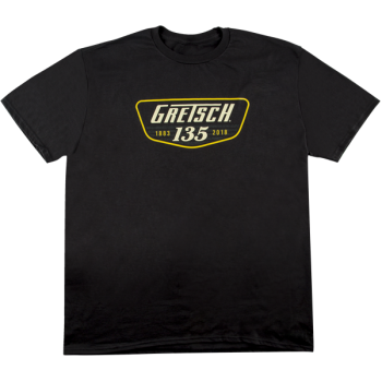 Gretsch 135th Anniversary T-Shirt Black Talla XXL