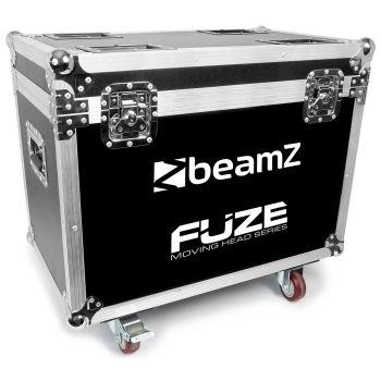 Beamz FCFZ4 FlightCase Para 4 Unidades de Cabezas Móviles Serie FUZE