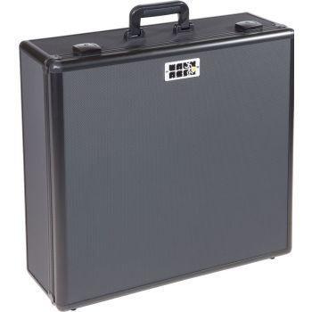 Walkasse W-MIXECASE-XL Flight case para mezclador universal tamaño extra largo, Negro.