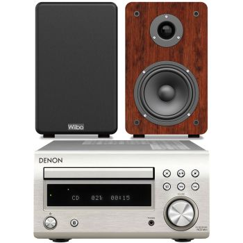 DENON RCDM-41 Silver + Wiibo Karino 200 Conjunto sonido