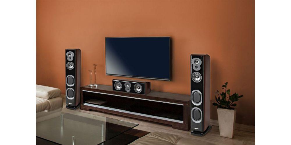 polk audio lsim707 altavoces suelo alta gama conexiones construccion en casa