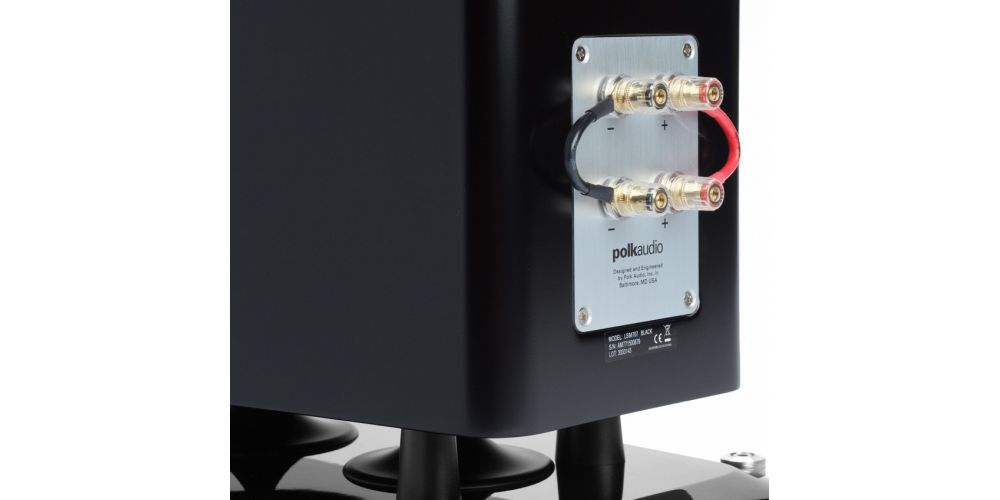 polk audio lsim707 altavoces suelo alta gama conexiones