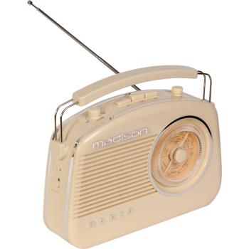 Madison MAD-VR60 Radio Vintage con Bluetooth y Radio