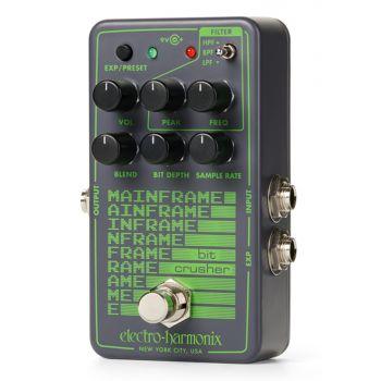 Electro Harmonix Mainframe Bit Crusher Pedal De Efectos