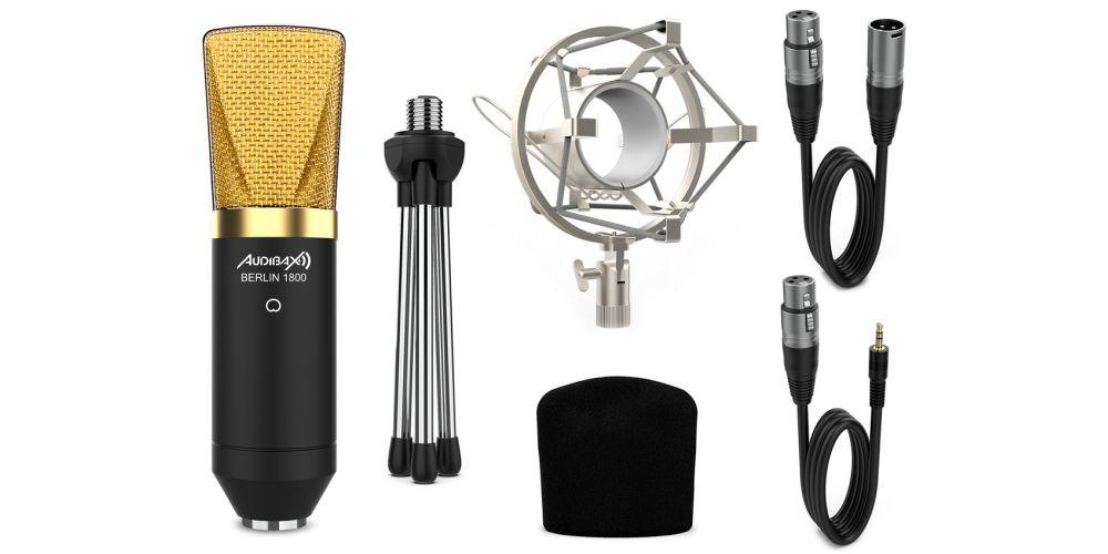 audibax berlin 1800 gold micro estudio comprar