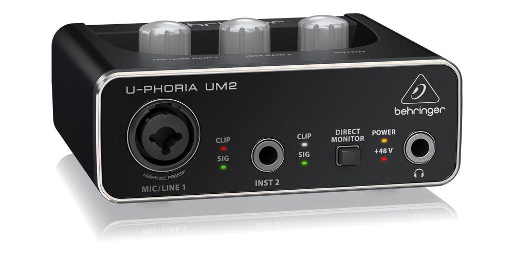 um2 behringer interface