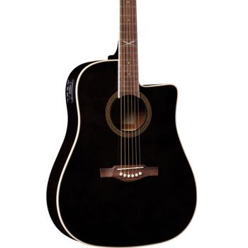 Eko NXT D100CE ST Black Guitarra Acustica
