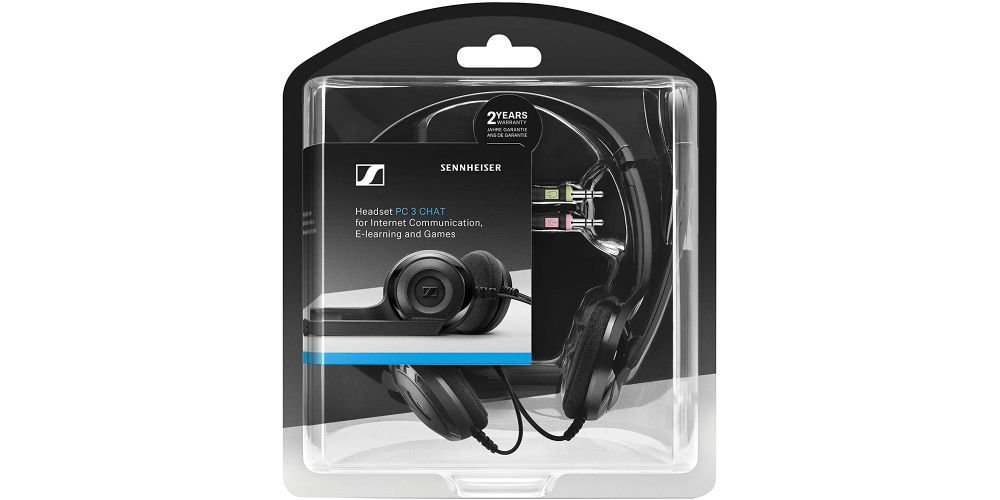 sennheiser PC3 chat audiculares comunicacion blister