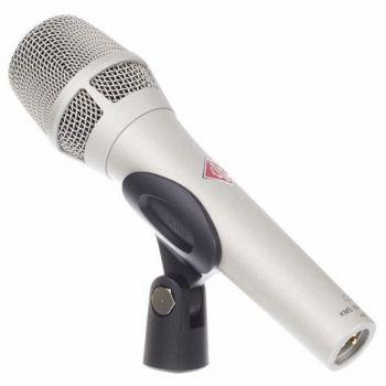 NEUMANN KMS104 Plus Microfono Cardiode, Vocalista - Directo, Niquel