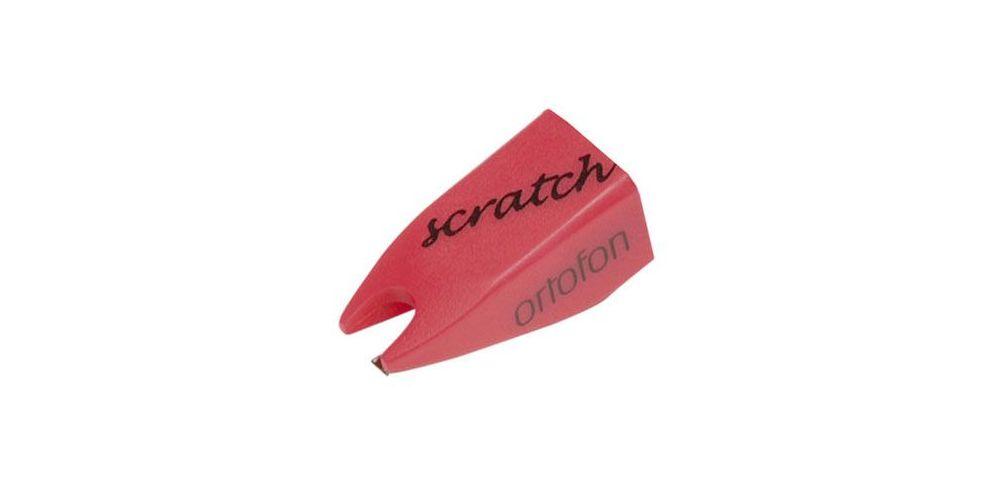 ortofon aguja scratch rosa conica
