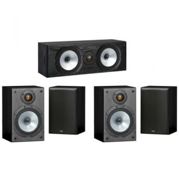 MONITOR AUDIO Conjunto Home Cinema 4 unidades MR1 + MR Centre,PACK 1