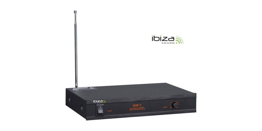 IBIZA SOUND VHF1B, Microfono Inalambrico Mano Frec. B
