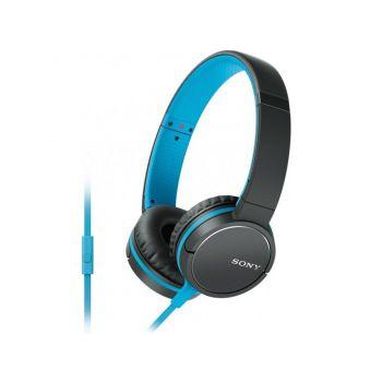 SONY MDR-ZX660 APL Negro /Azul Auricular