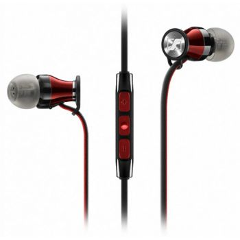 Sennheiser Momentum M2 IEI Rojo Auricular Boton