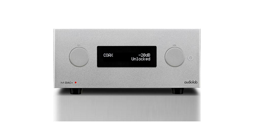 Audiolab mdac plus conversor digital analogico plateado dsd