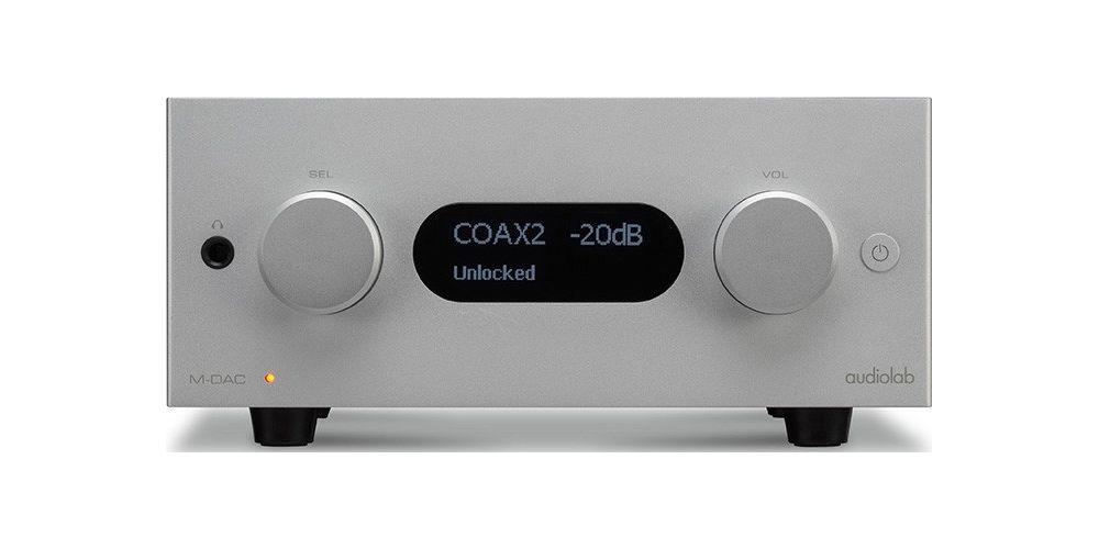 audiolab m dac plus silver