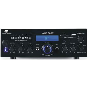 ACOUSTIC CONTROL AMP 60BT Amplificador MP3 Bluetooth