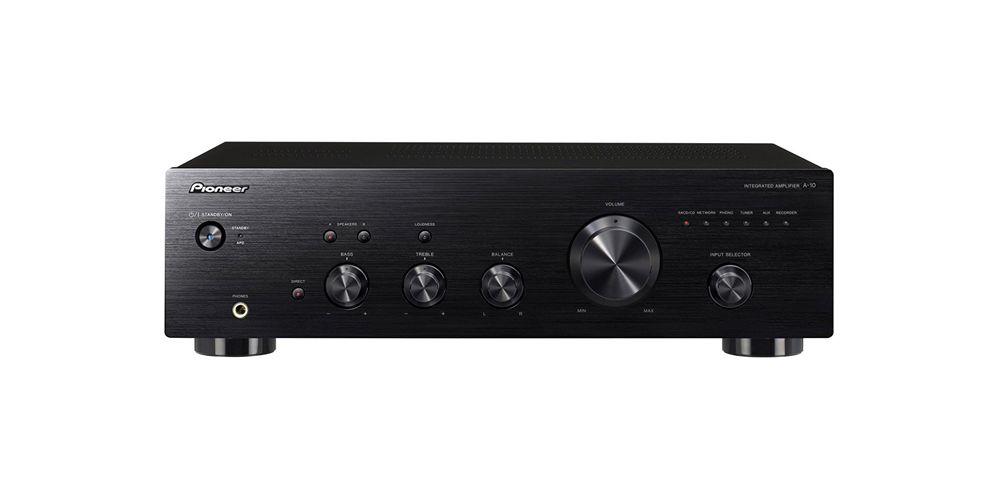 pioneer a 10k amplificador hifi black negro