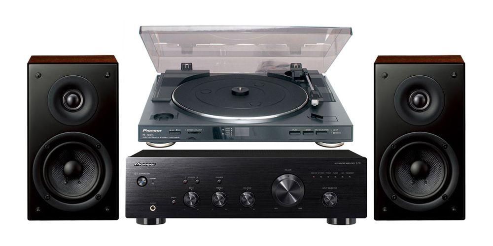 pioneer a 10k amplificador hifi black pl990 scn301