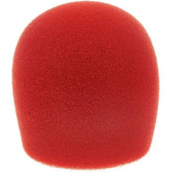 SHURE A58WS Paravientos para Shure SM58 Rojo