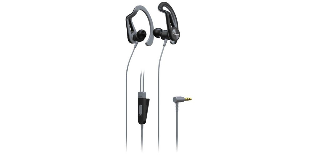 pioneer SE E5T H auriculares sport gris