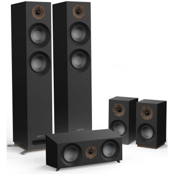 Jamo S807 HCS Black Altavoces Home Cinema Conjunto AV 5.0 Black
