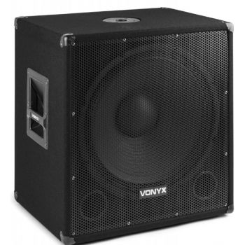 Vonyx SM-WBA 18MP3 Subwoofer Bi-Amplificado 18 pulgadas / 1000W y Bluetooth 170815