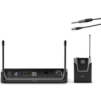 LD Systems U308 BPG Sistema inalámbrico con Petaca y Cable de Guitarra