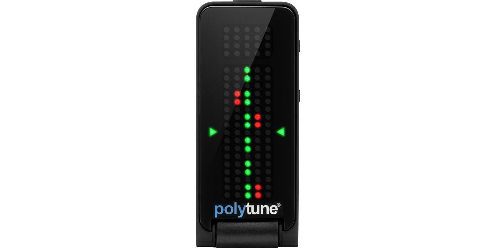 POLYTUNE CLIP BLACK Front