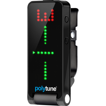 Tc electronic POLYTUNE CLIP BLACK  Afinador -