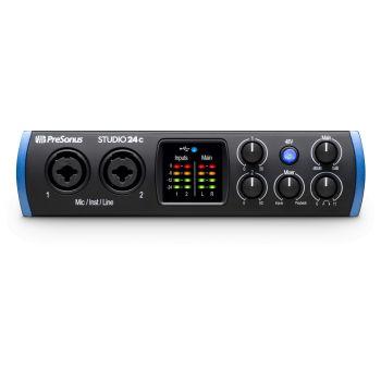 Presonus STUDIO 24C Interfaz de audio USB-C de 2x2