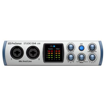 Presonus STUDIO 24 Interface de audio USB-C 2x2  2IN/6OUT 24BIT-192KHZ
