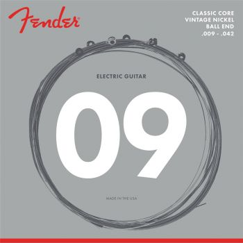 Fender Classic Core Electric Guitar Strings 155L (.009-.042)