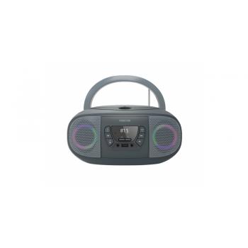 Fonestar BOOM-GO-G Radio CD Bluetooth USB Gris