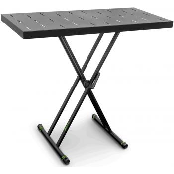 Gravity KSX 2 RD Juego con soporte para teclado X-Form doble y mesa de apoyo