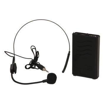 Ibiza Sound PORTUHF-HEAD2 MICROFONO DE CABEZA CON TRANSMISOR 865 MHZ PARA PORT12-15UHF