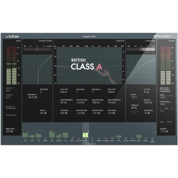 Softube British Class A for Console 1 Plugin