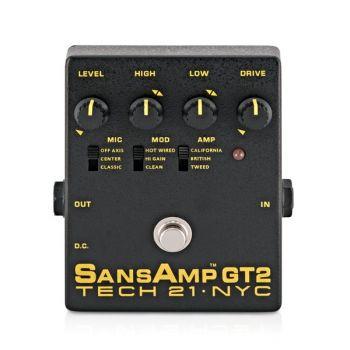 Tech 21 SansAmp GT-2 Pedal Preamplificador